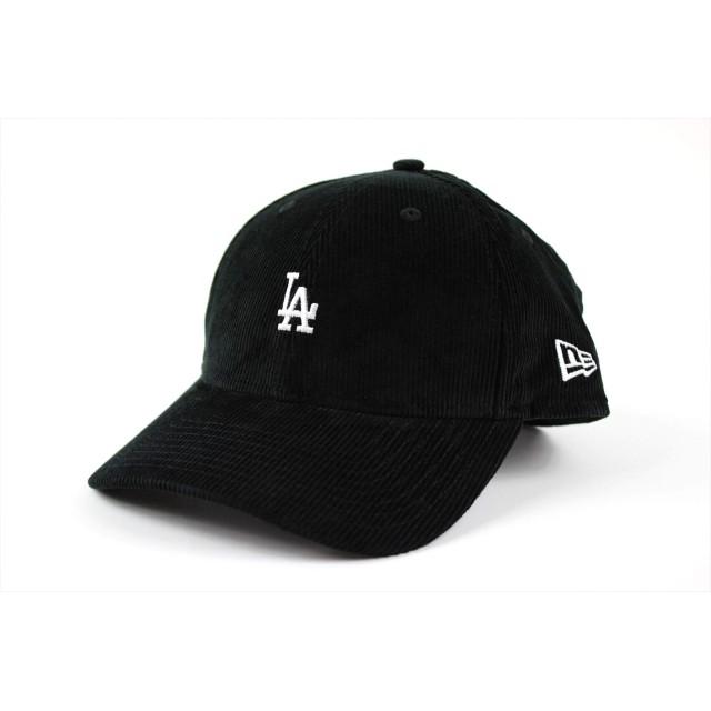 NEW ERA (ニューエラ) キャップ ミニロゴ コーデュロイ MLB 9FORTY ロサンゼルス ドジャース Los Angeles Dodgers