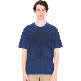 (グラニフ) graniph インディゴ Tシャツ (ビューティフルシャドー スプラッシュ) (ネイビー) メンズ レディース SS (g01) (g14)