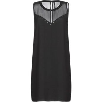 《セール開催中》PEPE JEANS レディース ミニワンピース&ドレス ブラック L ポリエステル 100%