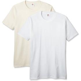 (フルーツオブザルーム)FRUIT OF THE LOOM(フルーツオブザルーム) J3930HDフルーツパックTシャツ J3930HD2 72 ホワイト-ナチュラル M