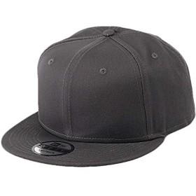 NEW ERA(ニューエラ) キャップ スナップバック 無地 9FIFTY メンズ 帽子 ベースボールキャップ スナップバックキャップ チャコール グレー [並行輸入品]