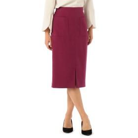 (ノーリーズ) NOLLEY'S ウール調合繊ポケット付タイトスカート 8-0035-6-06-012 38 ピンク