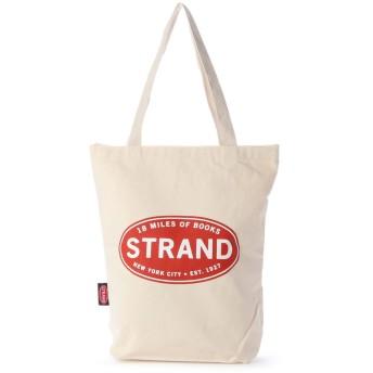 ラキュート LA CUTE 【STRAND BOOK STORE】Classic Naturalトートバッグ (WHITE)