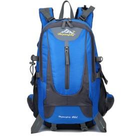 Kosun リュックサック アウトドアスポーツバックパック 防水 40L大容量 超軽量 多機能 アウトドア 旅行 ハイキング トレッキング キャンプ 登山用 (スカイブルー)