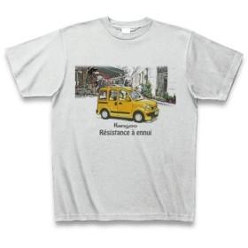 Kangoo(カングー) Yellow in Paris Tシャツ(アッシュ) S