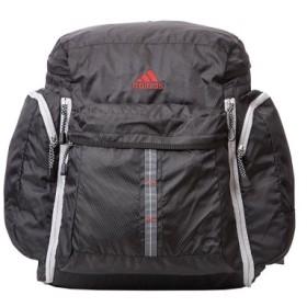 (Bag & Luggage SELECTION/カバンのセレクション)アディダス リュック 修学旅行 拡張 MAX54L チェストベルト付き adidas 47246 サブリュック 林間学校 臨海学校/ユニセックス ブラック