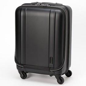 静音キャスター搭載の超軽量スーツケース ZER2094-46MTBK マットブラック [約35L]