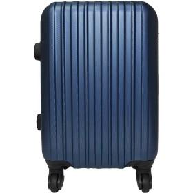 スーツケース 機内持込み TSAロック搭載 4輪 エンボス加工 (05508) (S-05508, ネイビー)