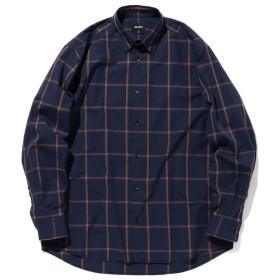 【40%OFF】 ビームス メン BEAMS / ルーズシルエット チェックシャツ メンズ NAVY L 【BEAMS MEN】 【セール開催中】