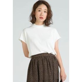 LIPSTAR リブハイネックカットソー Tシャツ・カットソー,オフホワイト