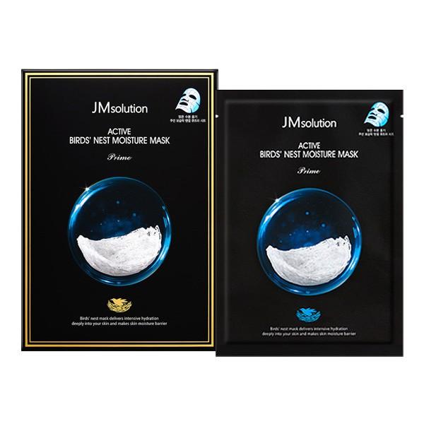 韓國 JMsolution 燕窩補水保濕面膜(10片入)【小三美日】D547667