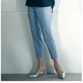 【J Lounge:パンツ】【雑誌掲載】バックラッシュリネンテーパードパンツ