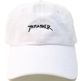 THRASHER(スラッシャー)6パネルキャプ ローキャップ・MARK GONZALES(マーク・ゴンザレス・16TH-C26)ホワイト