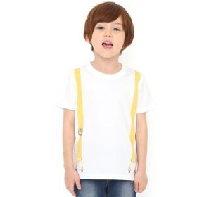 [マルイ] 【キッズ】コラボレーションTシャツ/イエローサスペンダー(でんしゃのずかん)/グラニフ(graniph)