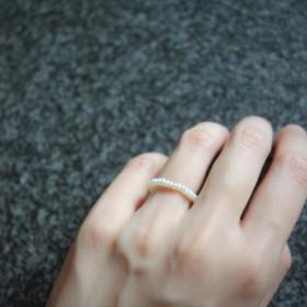 ミニパールリング【日日 hibi jewellery】