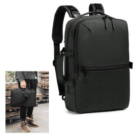 ビジネスリュック AIMKE 3way メンズ ビジネスバッグ 15.6インチ リュックサック 可調整パソコンバッグ 軽量 デイパック 大容量鞄 A4書類収納可 バックパック 手提げ PC リュック ショルダー カバン 通学 通勤 旅行 出張