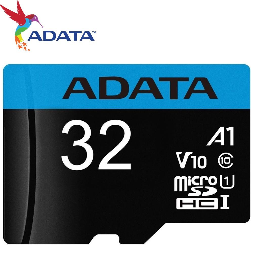 ADATA 威剛 32GB microSDHC TF UHS-I U1 V10 A1 100MB/s 32G 記憶卡