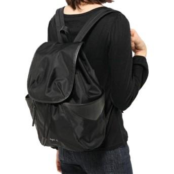 アニエスベー トートバッグ 2Way ブラック agnes b. VOYAGE ショルダーバッグ 大容量 通勤通学バッグ 旅行 [並行輸入品]