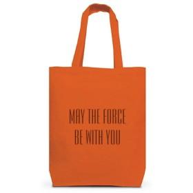 (クラブティー) ClubT MAY THE FORCE BE WITH YOU (3B) トートバッグM(オレンジ) M オレンジ