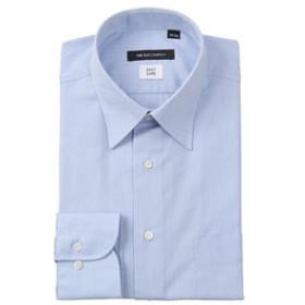 【THE SUIT COMPANY:トップス】レギュラーカラードレスシャツ 織柄 〔EC・BASIC〕