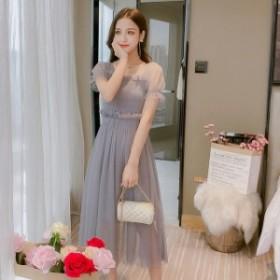 パーティードレス 結婚式 二次会 ワンピース 結婚式 お呼ばれ ドレス 20代 30代 40代 結婚式 お呼ばれドレス ロング ワンピース ドレス