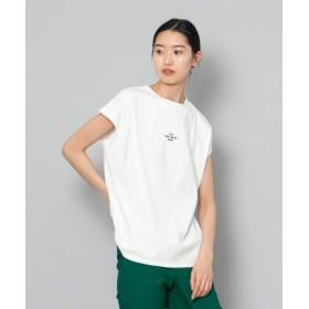 [センスオブプレイス] tシャツ レタードトップス(ノースリーブ) レディース OFF WHITE FREE