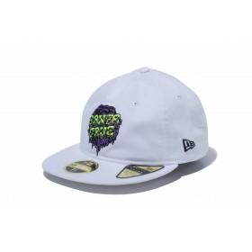 【ニューエラ公式】 RC 59FIFTY Santa Cruz サンタクルーズ スライムドットロゴ ホワイト メンズ レディース 7 5/8 (60.6cm) キャップ 帽子 12110708 コラボ NEW ERA