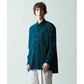 【40%OFF】 トゥモローランド クールライト ビッグシャツ メンズ 59ダークグリーン F 【TOMORROWLAND】 【セール開催中】