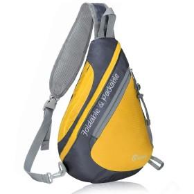 RLandto ワンショルダーバッグ ボディバッグ ショルダーバッグ 斜めがけバッグ 軽量 防水 折り畳み 大容量 サイクリング ハイキング キャンプ 旅行に最適 男女兼用