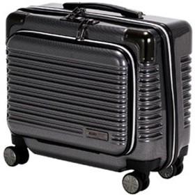 TSAロック搭載スーツケース (25L)ハードジッパー MCL2065-34CABK ブラック