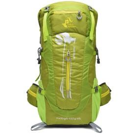 Advocator 登山用バッグ 防水 大容量 アウトドア 長期旅行 ハイキング キャンプ アルパインパック 登山リュック