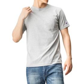 Champion(チャンピオン) TCポケツキTシャツ C3-K344-1 メンズ グレー:XL