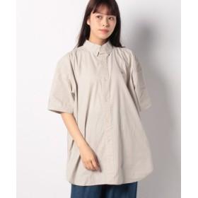 (WEGO/ウィゴー)BEVERLYHILLSP. CBIGシャツ/ユニセックス ベージュ