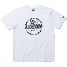 (ニューエラ) NEW ERA Tシャツ ZEBRA VISOR STICKER ホワイト XL
