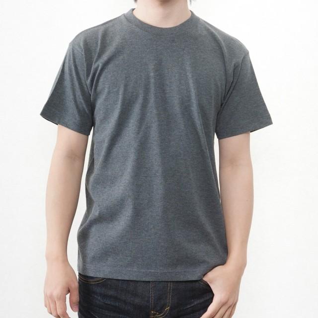 ティーシャツドットエスティー Tシャツ 半袖 無地 ビッグサイズ 6.2oz メンズ チャコール M