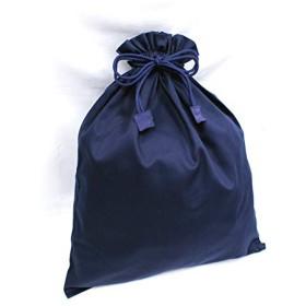 [キルシェ・ブリューテ] Kirsch Blute 濃紺 無地巾着 (特大サイズ 50cm×40cm) SK-BIGKON-08