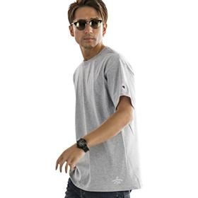 (アドミックス アトリエサブメン) ADMIX ATELIER SAB MEN メンズ Tシャツ 半袖ファッションmodelコラボ ChampionTシャツ (マサトシさん) 02-66-9501 50(L) グレー(12)
