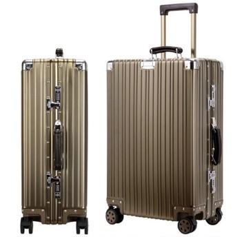 スーツケース 旅行出張 アルミ スーツケース キャリーケース アルミ スーツケース アルミ・マグネシウム合金 軽量 静音 TSAロック搭載 スーツケース アルミ (L) 65L スーツケース 大型