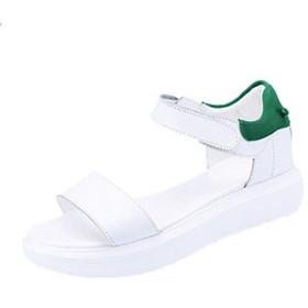 [HR株式会社] サンダル レディース カジュアル おしゃれ スポーツサンダル 歩きやすい 厚底 ぺたんこ やわらかい 履き心地良い 緑色25センチ