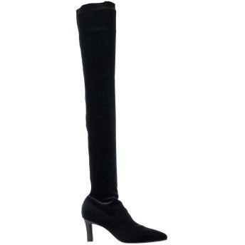 《セール開催中》LUCA VALENTINI レディース ブーツ ブラック 36 紡績繊維