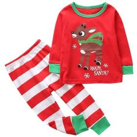 ルテンズ(Lutents)女の子 男の子 子供服 上着+ズボン 長袖 2点セット Tシャツ 柔らか 着心地 お祭り パーティー クリスマス 日常生活 カジュアル 可愛い 0-5歳 誕生日 プレゼント