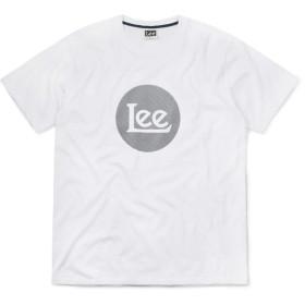 Lee リー LT2527 STANDARD PRINT ロングL ロゴ 半袖 クルーネックTシャツ 【ネコポス便】(M 718 WHITE)