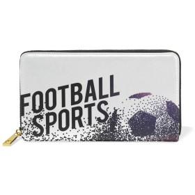 (マイステージ) MYSTAGE 長財布 財布 ワールドカップ サッカー フットボール 大容量 多機能 二つ折り L字ファスナー PUレザー 人気 メンズ