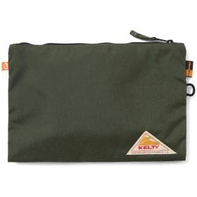 KELTY ケルティ 2592278 VINTAGE LINE ディックレクタングルラージポーチ(OLIVE DRAB) バッグインバッグ