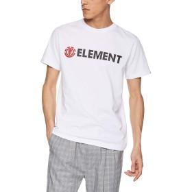 [エレメント] [メンズ] 半袖 プリント Tシャツ (USAコットン)[ AJ021-200 / BLAZIN SS TEE ] おしゃれ ロゴ WHT_ホワイト US L (日本サイズL相当)