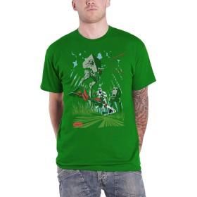 Star Wars T Shirt At-St Battkle Of Endoer Archetype 新しい 公式 メンズ Size S