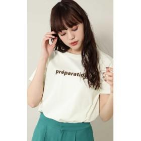 バレエプリントTシャツ ライトグリーン