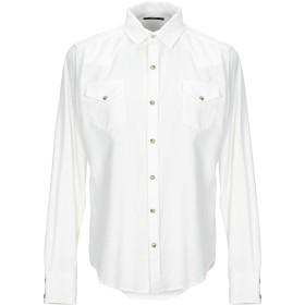 《期間限定 セール開催中》MELTIN POT メンズ シャツ ホワイト L コットン 100%