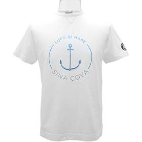 シナコバ イタリア製 半袖丸首Tシャツ (白) (LL)TS0118130570100