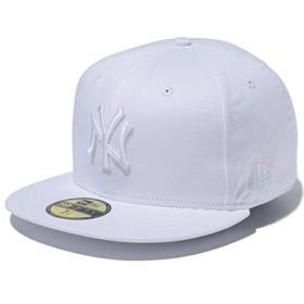 ニューエラ キャップ NEW ERA 59FIFTY MLB ニューヨーク・ヤンキース 11308530 ホワイト×ホワイト / 7 3/8 (58.7cm)